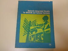 Motorola Integrated Circuits for Modem and Terminal Systems 1970 Early Computer