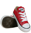 Converse Chuck Taylor Low Top Red/White Canvas For Toddlers (Little Kids) NIB