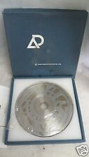 Asahi Diamond Wheel SD800-11V-0.25R, 4 Groove Grind Wheel, NEW