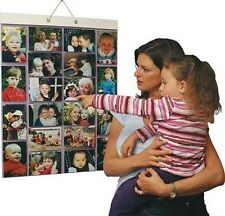 NEW - Picture Pockets Hanging  for 40 Photo's 20 Pocket