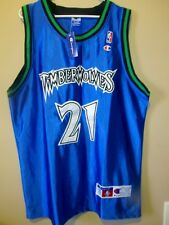 Kevin Garnett - Minnesota Timberwolves NBA Authentic Pro Cut Jersey Sz 52 NWT