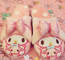 My Melody Pink Bow Plush Slippers For Women Size 6 -7 ML91