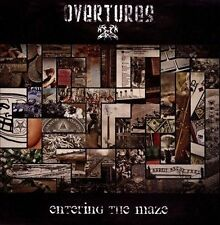 Entering the Maze by Overtures (Metal) (CD, Nov-2013, 2 Discs, Sleasy Rider)