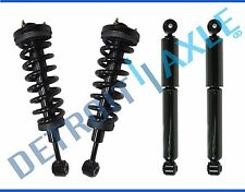 New (2) Front Strut Quick Assemblies  (2) Rear Shock Absorbers F-150 Mark LT 4x4