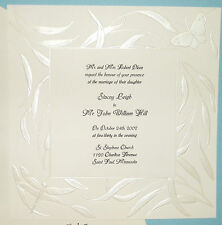 25 Butterfly Dragonfly Wedding Invitations, invites, cards kit