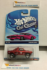 Subaru Brat RED * PINK OTTO Card * Hot Wheels Cool Classics * L11