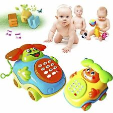 Music Cartoon Baby Toys Educational Mini Pull Line Phone Intelligence Develop