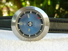 Vintage ZODIAC Astrographic 17 Jewels Automatic Steel date at 12 Serviced Swiss