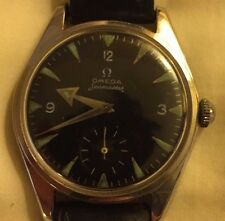 Men's Vintage RARE OMEGA Seamaster pre Ranchero Railmaster BROAD ARROW Watch!!