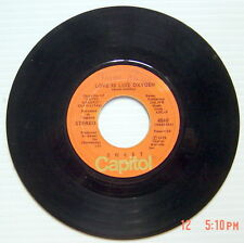 ONE 1978'S 45 R.P.M. RECORD, SWEET, COVER GIRL + LOVE IS LIKE OXYGEN