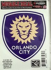"Orlando City SC Lions 3"" Vinyl Die Cut Decal Sticker Repositionable Soccer Club"