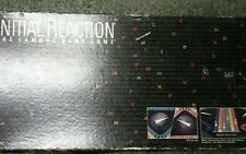 Initial Reaction board game 1985 Playline famous names question answer trivia