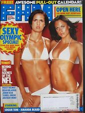 LOGAN TOM  AMANDA BEARD September 2004 FHM Magazine TIFFANY VILLARREAL