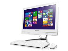 """Lenovo C50-30 23"""" All-in-One PC Intel Core i3 Dual Core 8GB, Windows 10 - White"""