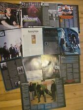 Killswitch Engage, Lot of Seven, Full through Four Page Clippings