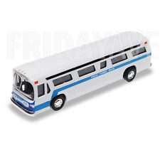 New York City NY Metro Classic NYC Bus Diecast Model Model Pull Back Car Toy 6""