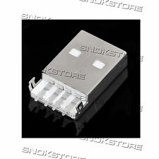 2pcs USB 4-pin male SOCKET CONNECTOR TYPE A CONNETTORE USB 4pin tipo A repair