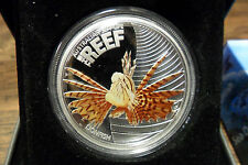2009 50c Australian SeaLife LION FISH 1/2 Oz Silver Proof Coin MOST SOUGHT AFTER