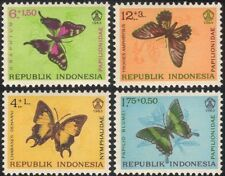 Indonesia 1963 Butterflies/Insects/Nature/Conservation/Butterfly 4v set (n21943)
