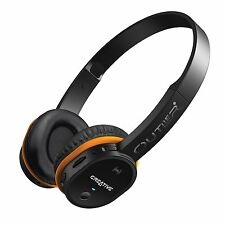 Creative Outlier Wireless Bluetooth On-ear Headphones with NFC &  MP3 Player