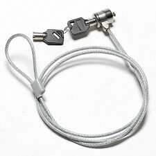 1PC 111CM Anti-Theft For Notebook Computer Security key Lock Cable Chain MQQ