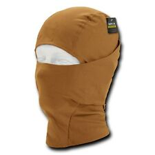 Brown Convertible Balaclava Tactical Military Cold Weather Head Neck Face Mask