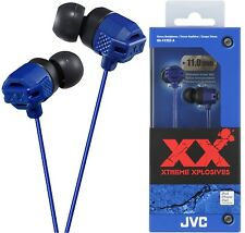 JVC HA-FX102 BLUE In-Ear Headphones Extreme Bass Original / Brand New