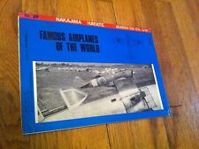 Famous Airplanes Of The World #20 1971 Japanese Magazine Nakajima Hayate WWII