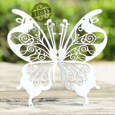 10 PCS 3D Metal Butterfly Design Wall Stickers Art Decals DIY Room Home Decor