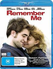 Remember Me - Blu Ray ss Region FREE VG Condition