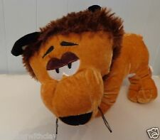 PEEK A BOO  TOY LTD  #77757 PLUSH GOLDEN white belly LION WITH BROWN FUZZZY HAIR