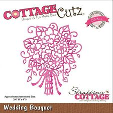 COTTAGE CUTZ WEDDING BOUQUET CUTTING DIE FLOWERS FROM THE SCRAPPING COTTAGE