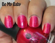 NEW FingerPaints Nail Color BE MY BABY - Finger Paints polish ~ Pink Shimmer