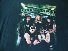 Vintage WWF D GENERATION X DX GROUP HHH X PAC CHYNA china wrestling T Shirt 3XL