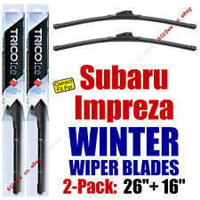WINTER Wipers 2-Pack Premium Grade - fit 2015-2016 Subaru Impreza - 35260/160