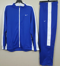 NIKE DRI FIT BASKETBALL WARM UP SUIT JACKET + PANTS ROYAL BLUE NWT (SIZE 2XL)