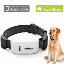 DOG COLLAR GPS TRACKER TRACKING DEVICE LOCATES MISSING PET IN SECONDS ON PHONE