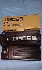 Boss Pedale Volume Boss EV10 Perfetto con custodia cavo stereo  e imballo