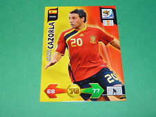 CAZORLA ESPAÑA  PANINI FOOTBALL FIFA WORLD CUP 2010 CARD ADRENALYN XL