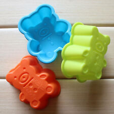 Bear Silicone Soap Mold Cake Chocolate Candy Muffin Pudding Jelly Mould Tray Pan