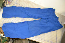US military convalescent trousers blue MEDIUM medical pants USA grunge vintage