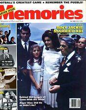 Memories The Magazine of Then and Now Fall 1988 Jackie Kennedy EX 012016jhe