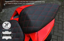 GRIP VINYL RED DIAMOND ST CUSTOM FITS DUCATI 899 1199 REAR COMFORT SEAT COVER