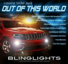 2014 2015 Jeep Grand Cherokee Xenon Halogen Front Fog Lamps Driving Lights Kit