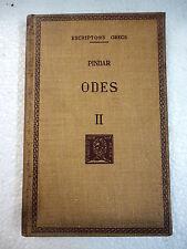 Escriptors Grecs,Odes II Pindar,F.Bernat Metge 1959