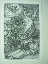 Albrecht DURER VINTAGE incisione su rame ORAZIONE NELL'ORTO PASSIONE-N. 2