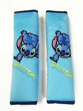 Lilo & Stitch Car Accessory : 2 pcs Seat Belt Covers #Somersault