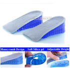 Honeycomb Gel Heel Lifts Height Increase Insoles Shoe Inserts Pads Raise
