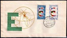 EUROPA CEPT FDC 1957 ITALIE 1