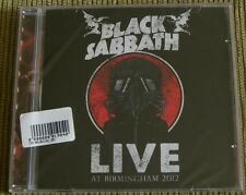 BLACK SABBATH LIVE AT BIRMINGHAM 2012 CD MADE IN BRAZIL 2015 13 TRACKS WAR PIGS